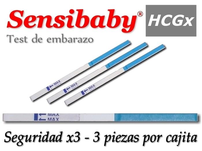 e3dc20fca Sensibaby Tiras Prueba de Embarazo 5