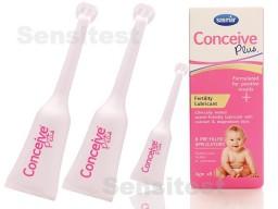 Conceive Plus lubricante de fertilidad 8 aplicadores