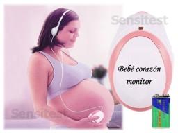 Escuchar el corazón del bebé en su vientre