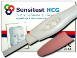 Sensitest prueba de embarazo paquete 3 unidades: 5,49 €